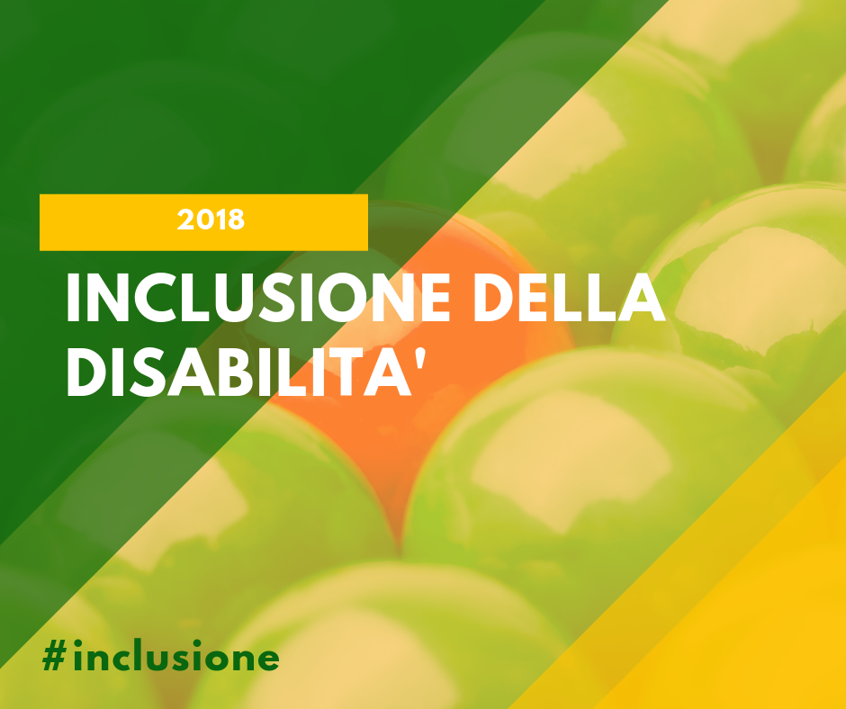 Inclusione della Disabilità 2018